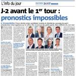 J-2 avant le 1er tour : pronostrics impossibles